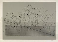"garadinervi: "" John Cage, Mylar Overlay for Fontana Mix, 1981 "" Graphic Score, Nam June Paik, Experimental Music, John Cage, Sound Art, Generative Art, Abstract Drawings, Fluxus, Les Oeuvres"