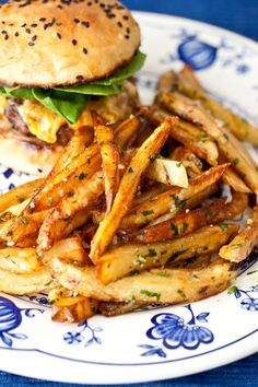 Garlic-Parsley Fries