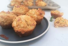 This is a quick and uncomplicated ham, cheese and paprika savoury muffins recipe… perfect for lunch boxes, family picnics or as a snack on their own!  This recipe is so simple that if the kids want, they can join in and help make it. These muffins freeze well, so great for making a big batch and taking out on demand.