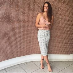 ~ delirium ~ @obdressed in Elwood pairing our Delirium skirt with some pretty neutrals. Shop it in store or online www.talulah.com.au #talulahlabel #ootd #streetstyle #fashion #skirt