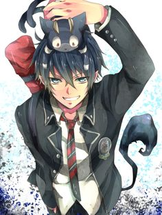Rin. One of my favorite male characters. He's an adorable badass, what more could you ask for?