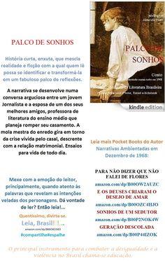 Start reading PALCO DE SONHOS/Conto de Welington Almeida Pinto. BRAZIL. Enjoy: amazon.com/dp/B00O8ZJ50O    Lançamento Edition Kindle, sob medida, para Você. Leia#compartilhe, espalhe histórias formatadas para serem lidas em pequenas telas onde for.  Realismo Mágico da Literatura Brasileira Conto de Welington Almeida Pinto, produzido numa linguagem, especialmente, para o seu aparelho de mídia virtual. Dá vontade de ler? Então leia.