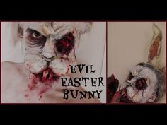Evil Zombie Easter Bunny FX make-up tutorial - YouTube