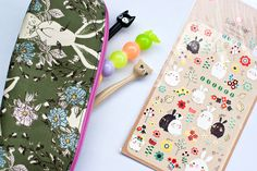 novamelina www.novamelina.com - International shipping! #pencilcase #pencil #cases #pouch #pouches #handmade #unique #floral #flower #fabric #kids #fashion #style #kidsfashion #kidsstyle #kidsbag #forkids #small #cute #kawaii #stickers #owl #forest #creatures # totoro #planner #journal #diy #crafting #accessories #gift #ideas