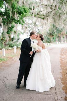Classic Southern wedding at the Savannah Yacht Club