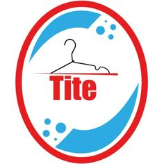 Logo of Tite laundry. The logo tells a story without using the word laundry.