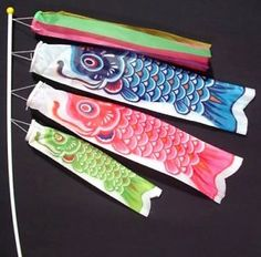 Flags, Banners & Accessories Home Decor Japanese Koinobori Koi Nobori Carp Windsocks Streamers Colorful Fish Flag Decoration Med Fish Kite Flag Hanging Wall Decor Attractive Appearance