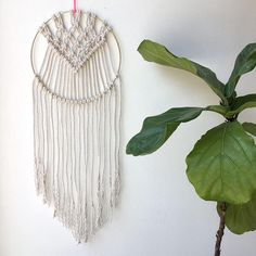 Have you been bitten by the macrame bug? We love it here at Brooklyn Craft Company, not just because we have to do all the crafts but also because we can't resist anything from the 70's. (If you've ever visited our store in Brooklyn, you know that Fleetwood Mac is our permanent soundtrack!)We are especially smitten with macrame wall hangings made in brass rings, because they add a bit of bling to your decor with dash of geometrics a nod to dreamcatchers. What's not to love? ...