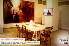 Nuova sede di Pangea a Milano / Dal gennaio 2014 un nuovo spazio Pangea più bello, aperto al pubblico e in grado di ospitare mostre, eventi e incontri.