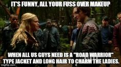 End Of The World Blog: A Handful of Memes That Fell to Earth (Eliza Taylor, Richard Harmon)