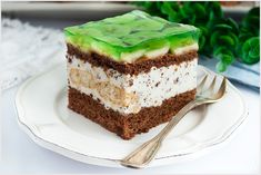 Bananowiec straciatella German Desserts, Tiramisu, Sweets, Baking, My Love, Ethnic Recipes, Polish, Food, Cooking