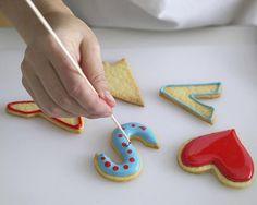 Verzieren mit Zuckerguss - Verzierungen ausarbeiten Rezept
