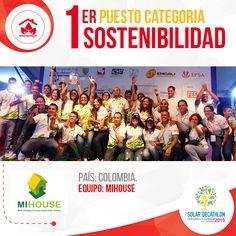 Orgullo de Cali y Colombia Felicitaciones! Al equipo caleño #MI_HOUSE Project por construir la casa más #sostenible. Universidad de San Buenaventura Cali # Cali_Co