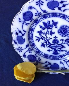 Johnson Brothers Plate Holland Flow Blue Plate