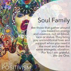 Unconditional love from my soul family. Spiritual Enlightenment, Spiritual Wisdom, Spiritual Awakening, Awakening Quotes, Spiritual Gangster, Spiritual Growth, Zen Meditation, Positive Energie, Soul Family