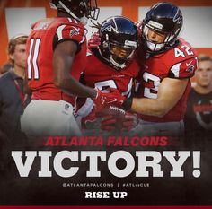Falcons beat the Browns 24-13!! #RiseUp August 18, 2016