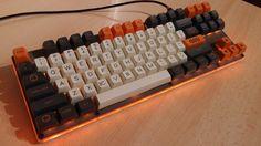 Carbon SA on backlit keyboard