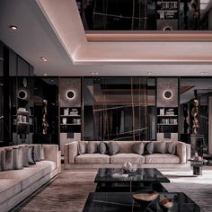Dream House Interior, Luxury Homes Dream Houses, Dream Home Design, Modern House Design, Home Room Design, Motif Simple, Black Interior Design, Dark Interiors, Aesthetic Rooms