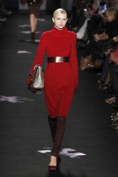 Turtleneck Dress at Diane von Firstenberg RTW Fall 2012