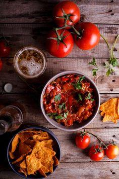 Easy home-made salsa - simply-delicious-food.com
