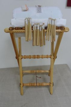Bobbin Lace, Needlework, Chair, Furniture, Home Decor, Easel, Lace, Cushions, Tile