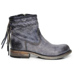 Bed Stu Craven Black Leather Boot