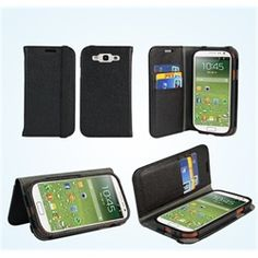 MiniSuit's new Executive Wallet Case for Samsung Galaxy S4 SmartPhone features design and intuition that exclaim smart and functional! This innovative 2-in-1 case is not only a protective cover, but is also a wallet hidden on the inside. Here, fashi