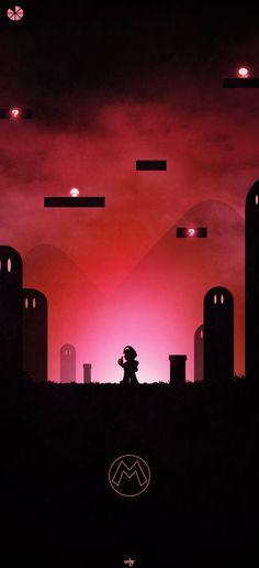 Haunting Video Game Artwork Featuring Mario, Samus, Master Chief, and Link — GeekTyrant