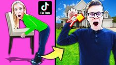 Testing Viral Tik Tok Life Hacks to BUY Mom's House! Daily Life Hacks, Girl Life Hacks, Rebecca Zamolo, Lie Detector Test, Diy Clothes Life Hacks, Hacks Every Girl Should Know, American Video, Challenge S, Secrets Revealed