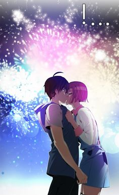 Dongtae and Mio kiss Dice- Webtoon Dice Webtoon, Webtoon Comics, Manhwa Manga, Manga Anime, Anime Zero, Plastic Memories, Hyouka, Anime Comics, Anime Guys