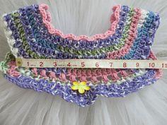 Ravelry: Empire Waist Crochet Tutu Dress with Cluster Pearl Detail pattern by Patricia Klonoski