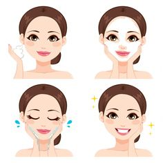 Does it Matter Which Order I Use my Timeless Face Products?- Does it Matter Which Order I Use my Timeless Face Products? Clear Skin Face, Clear Skin Tips, Face Skin Care, Best Beauty Tips, Beauty Hacks, Beauty Illustration, Tips Belleza, Perfect Skin, Facial Masks