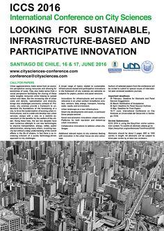 II Congreso Internacional en Ciencias de la Ciudad. call for papers