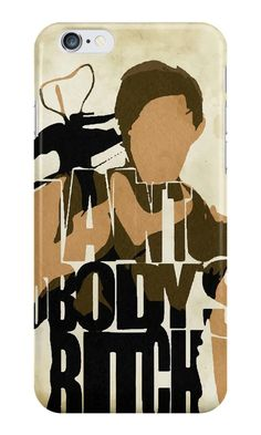 Our I Ain't Nobody's B*tch - The Walking Dead Phone Case is available online now for just £ 5.99.    Get the famous Daryl Dixon quote on this The Walking Dead phone case. 'I Aint Nobody's B*tch'    Material: Plastic, Production Method: Printed, Authenticity: Unofficial, Weight: 28g, Thickness: 12mm, Colour Sides: Clear, Compatible With: iPhone 4/4s | iPhone 5/5s/SE | iPhone 5c | iPhone 6/6s | iPhone 7 | iPod 4th/5th Generation | Galaxy S4 | Galaxy S5 | Galaxy S6 | Galaxy S6 Edge | Galaxy S7…