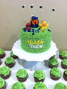 Trash Pack Cake. Que Ricos queques artesanales.