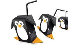 penguin juice packaging