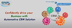 Confidently drive your Business with automotive CRM Solution.
