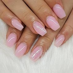 54 Nails: Pink Nail Art Designs Make Girls Cute 2019: pink nails; squoval nails; glitter nails; matte nails; ombre nails; acrylic nails; #nails; #nailart; #nailpolish; #acrylicnails; #naildesigns; #pinknails; #nailsart; #squovalnails #AcrylicNailsDesigns Nail Art Designs, Short Nail Designs, Nail Polish Designs, Acrylic Nail Designs, Acrylic Nails Natural, Almond Acrylic Nails, Wedding Nail Polish, American Nails, Pink Nail Art