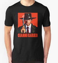 Gianni Garko - Sartana Spaghetti Western T-Shirt von adriangemmel