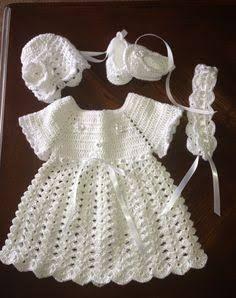 Resultado de imagem para crochet baby dress
