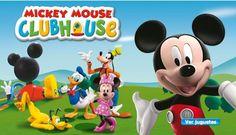 DE TODO EN IMAGENES Y MANUALIDADES: La Casa de Mickey Mouse