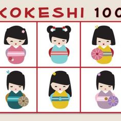 Kokeshi Doll Coloring Sheet {Printable Activities for Kids}