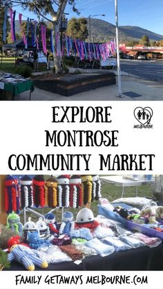The Montrose Community Market is a make, it bake it, homegrown, homemade, crafts and produce market held on the Saturday of the month except for January Melbourne Shopping, Melbourne Markets, Melbourne Cbd, Melbourne Australia, South Australia, Yarra Valley, Family Getaways, Craft Markets, School Holidays