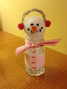 Salt Shaker Snowman   Cherished Handmade Treasures