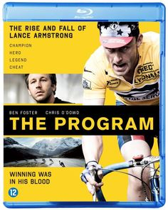 THE PROGRAM BLU-RAY w/ DUSTIN HOFFMAN & BEN FOSTER as LANCE ARMSTRONG