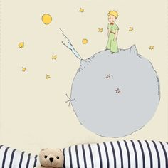 The little prince on his asteroid!