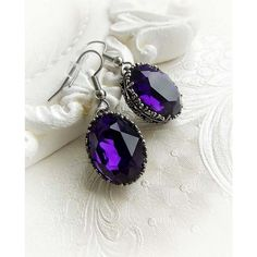Romantic purple Swarovski crystal gothic by MidnightVision on Etsy 3a4adaae08a0