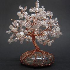 Crystal tree by Miriele.deviantart.com on @deviantART
