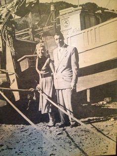 Marilyn and Joe DiMaggio in Japan, February 1954.