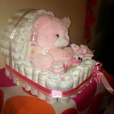 Diaper Carry Cot Cake